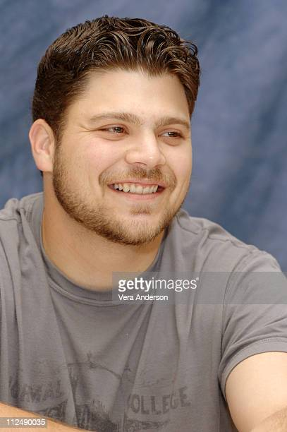 """Jerry Ferrara during """"Entourage"""" Press Conference with Adrian Grenier, Kevin Connelly, Jerry Ferrara, Kevin Dillon, Jeremy Piven and Doug Ellin at..."""