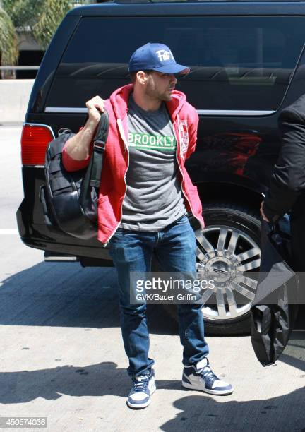 Jerry Ferrara is seen at LAX on June 13 2014 in Los Angeles California