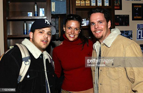 Jerry Ferrara Kevin Dillon and guest at Levi's Ranch