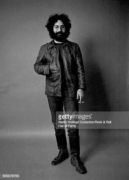 Jerry Garcia of American rock band the Grateful Dead in Belvedere St Studio San Francisco CA July 1969