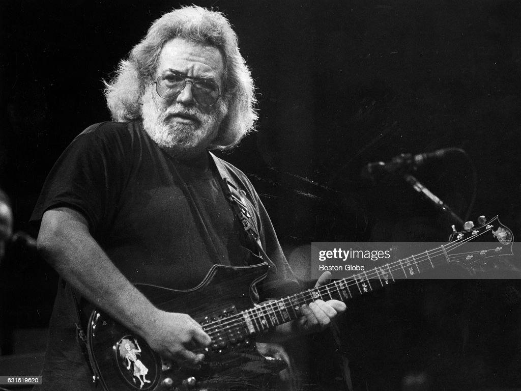 Jerry Garcia Of The Grateful Dead Performs During First Six Concerts At Boston