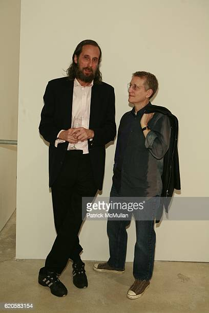 Jerry guest and Ronny Horn attend LOUIS XIII Celebrates WALLPAPER'S Guest Editor LOUISE BOURGEOISE with HELMUT LANG at Cheim Reid and Glasshouses on...