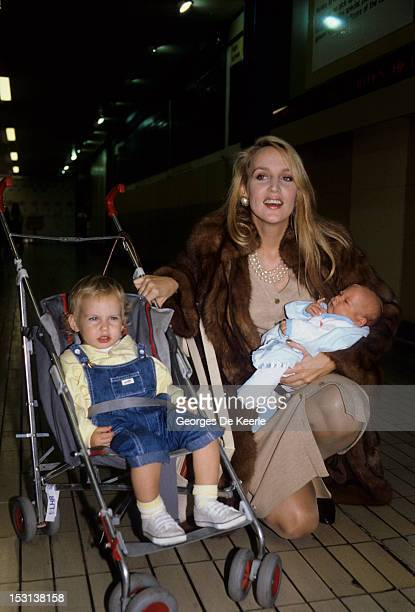 Jerry Hall and her children had with Mick Jagger on September 29 1985
