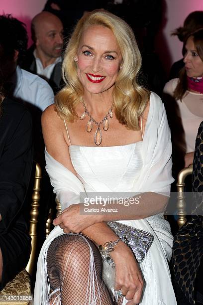 Jerry Hall attends 'The Art of The Detail' event at 'Las Rozas Village' center on April 17 2012 in Madrid Spain