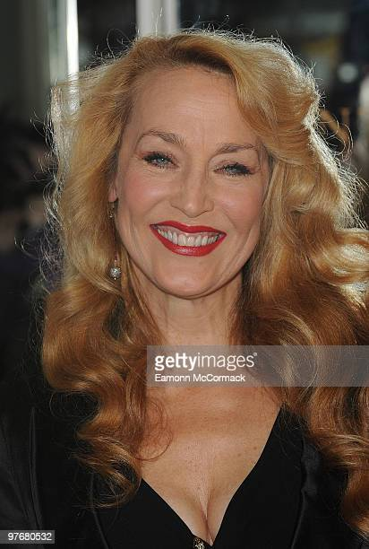 Jerry Hall attends The Noble Gift Gala at The Dorchester on March 13 2010 in London England