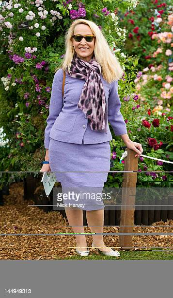 Jerry Hall attends the press and VIP preview day for The Chelsea Flower Show at Royal Hospital Chelsea on May 21, 2012 in London, England.