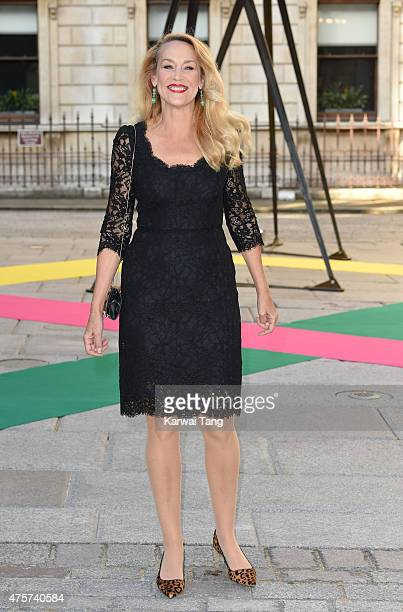 Jerry Hall attends the Royal Academy of Arts Summer Exhibition at the Royal Academy on June 3 2015 in London England