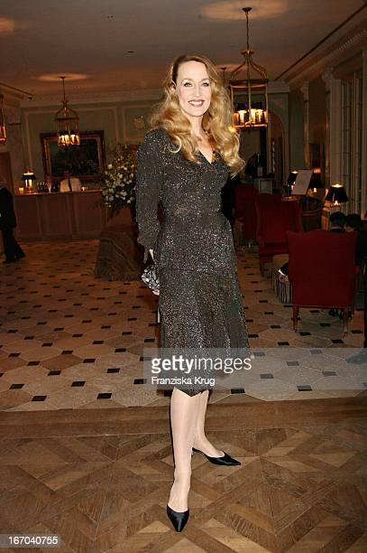 Jerry Hall In Einem Vivienne Westwood Kleid Bei Der Verleihung Der Gala Spa Awards Im Brenner'S Park Hotel In Baden Baden Am 250306