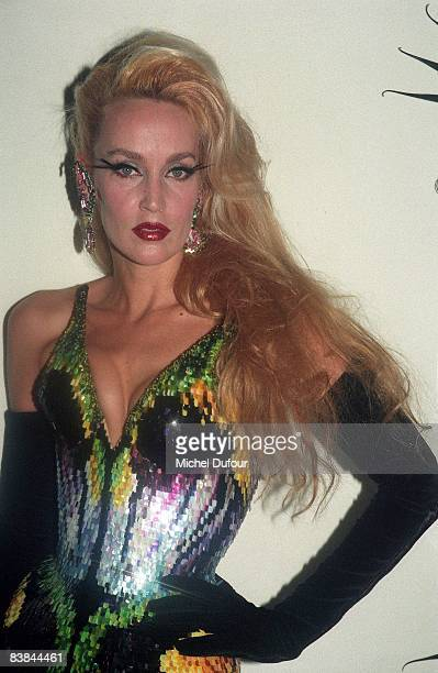 Jerry Hall on catwalk while a Mugler's fashion show 1997 in Paris Jerry Hall just gave an interview to a UK celebrity magazine where she reveals that...