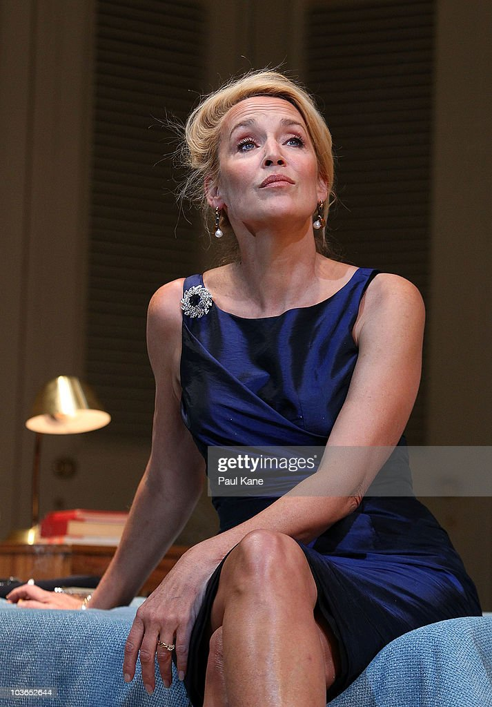 jerry hall performs quotthe graduatequot onstage in perth photos