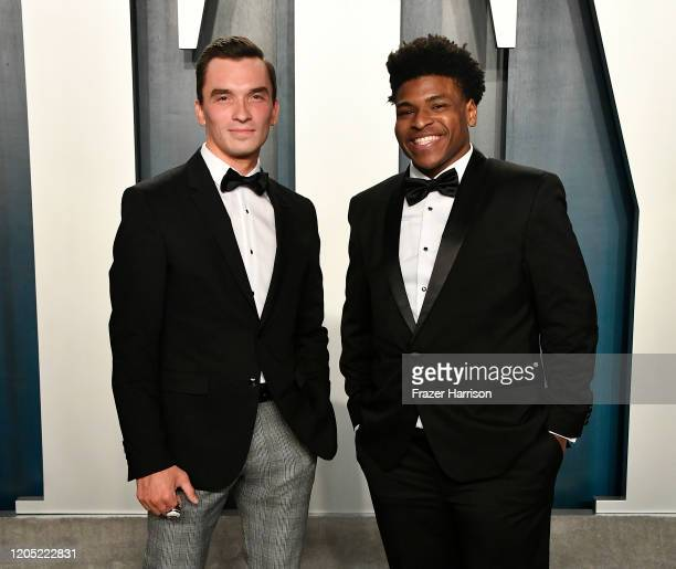 Jerry Harris attends the 2020 Vanity Fair Oscar Party hosted by Radhika Jones at Wallis Annenberg Center for the Performing Arts on February 09 2020...