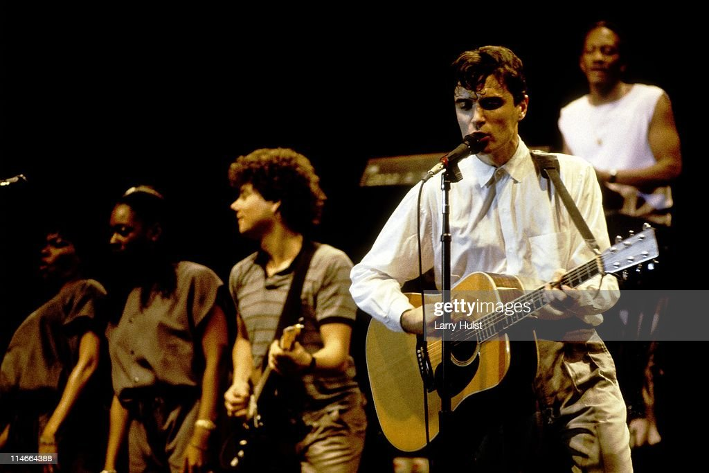Talking Heads live : News Photo