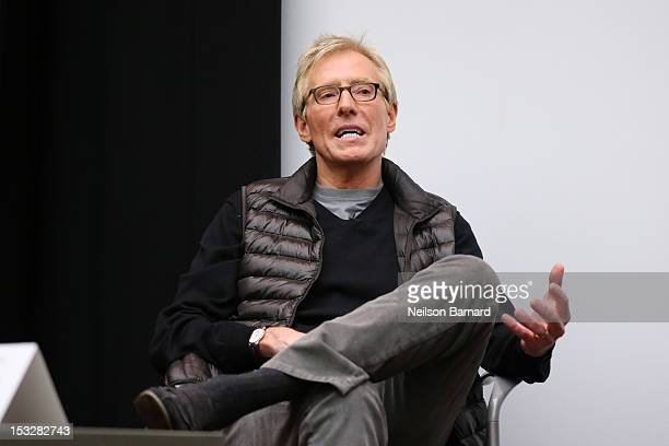 Jerry Helling President and Creative Director Bernhardt Design speaks on stage during the Emerging Designers Panel Discussion hosted by New York...