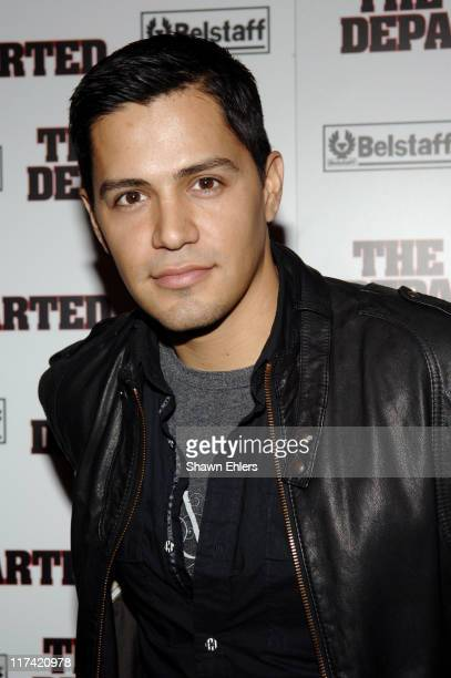 Jerry Hernandez during 'The Departed' New York City Premiere Sponsored by Belstaff Inside Arrivals at Ziegfeld Theatre in New York City New York...