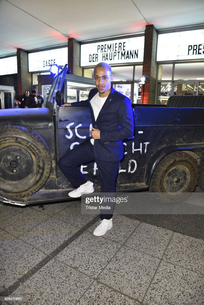 Jerry Hoffmann attends the premiere of 'Der Hauptmann' at Kino International on March 8, 2018 in Berlin, Germany.
