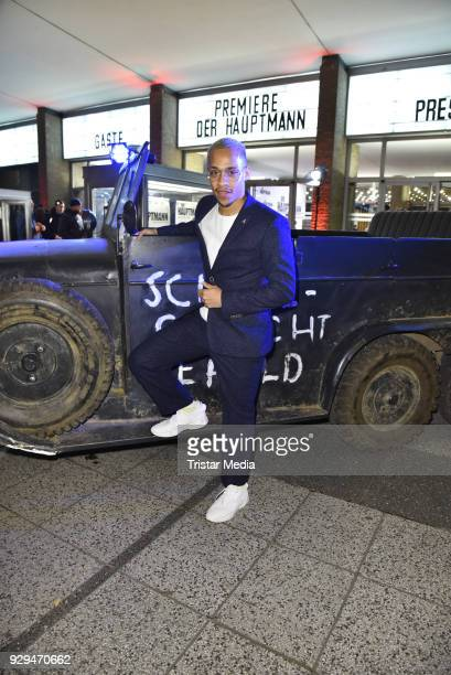 Jerry Hoffmann attends the premiere of 'Der Hauptmann' at Kino International on March 8 2018 in Berlin Germany