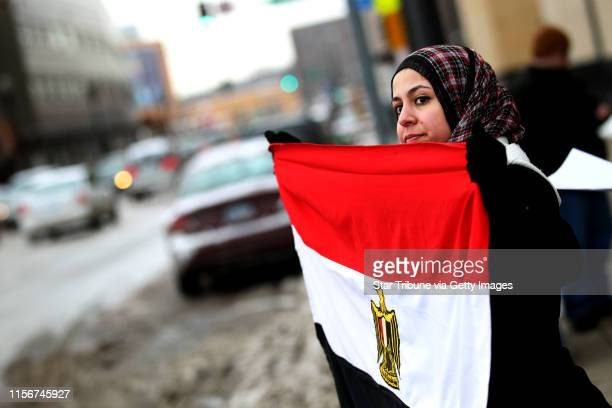 Jerry Holt• jgholt@startribune.com St. Paul ,MN ---- A small group of Egyptian-Americans in Minnesota gathered at the Ramsey County Courthouse...