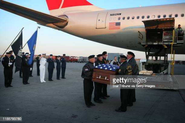 Jerry Holt*jgholt@startribune.com 5/17/2007 At 5:55 a.m. Thursday, Northwest Flight 808 from Honolulu landed in Minneapolis carrying the coffin of...
