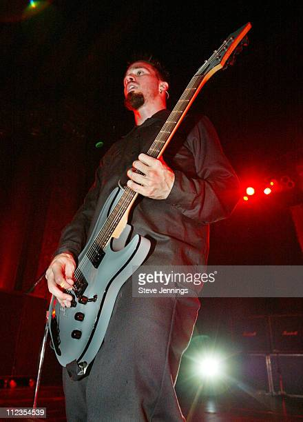 Jerry Horton of Papa Roach at the CD release concert for LoveHateTragedy