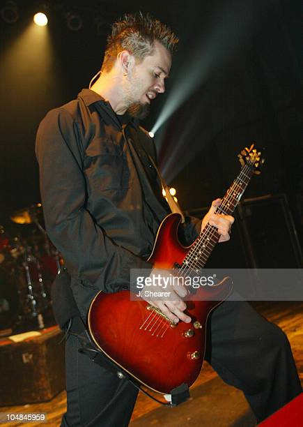 Jerry Horton of Papa Roach performs in support of LoveHateTragedy