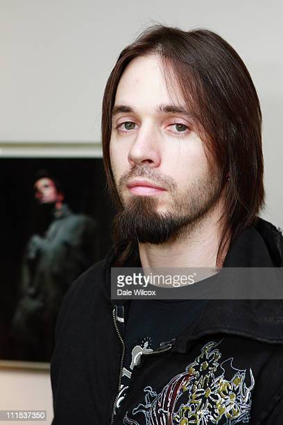 Jerry Horton of Pappa Roach during KROQ Acoustic Christmas Gift Lounge Day 1 at Gibson Amphitheater in Universal City California United States