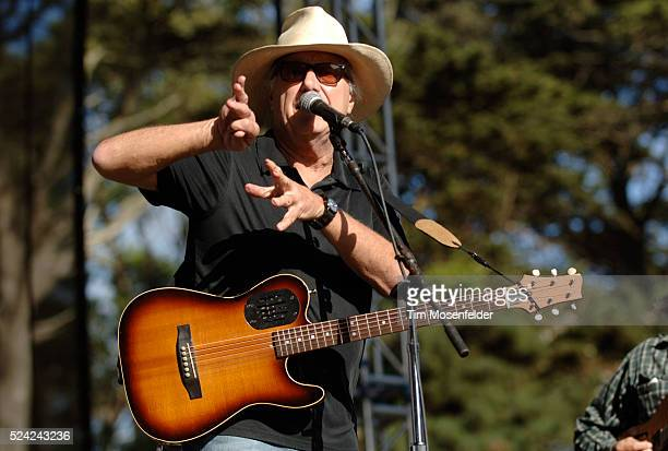 Jerry Jeff Walker performs as part of Hardly Strictly Bluegrass 8 at Speedway Meadow in Golden Gate Park