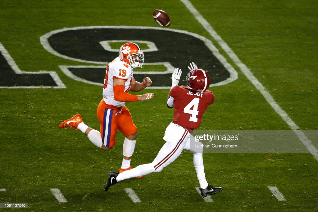 College Football Playoff National Championship Presented By AT&T - Alabama v Clemson : Photo d'actualité