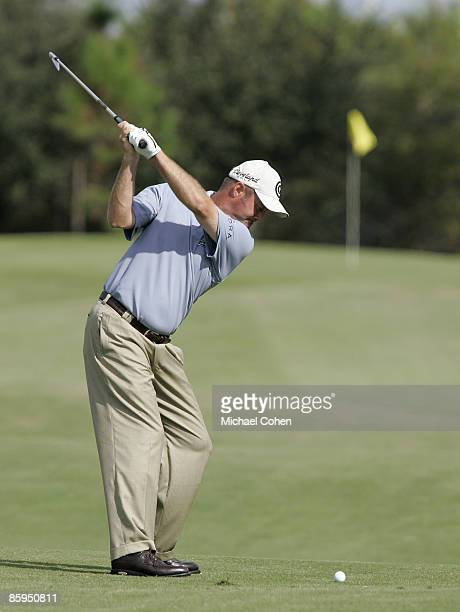 Jerry Kelly during the third and final round of the Merrill Lynch Shootout at the Tiburon Golf Club in Naples Florida on November 12 2006