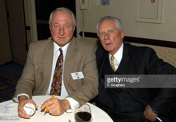 Jerry Koosman and Bud Harrelson who were teammates on the 1969 World Champion NY Mets
