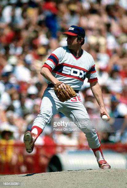Jerry Koosman of the Chicago White Sox pitches during an Major League Baseball game circa 1982 Koosman played for the White Sox from 198183