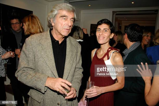 Jerry Lauren and Jenny Lauren attend American Folk Art Museum's Kickoff Party hosted by Yaz and Valentin Hernandez at Private Residence on October 15...