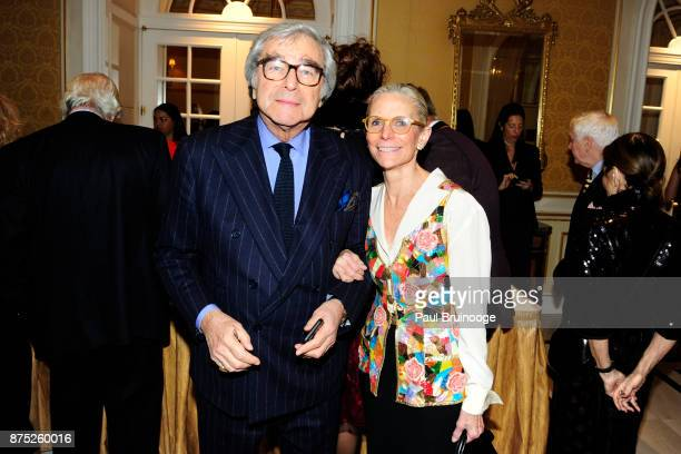 Jerry Lauren and Nancy Druckman attend the American Folk Art Museum Annual Gala at JW Marriott Essex House on November 16 2017 in New York City