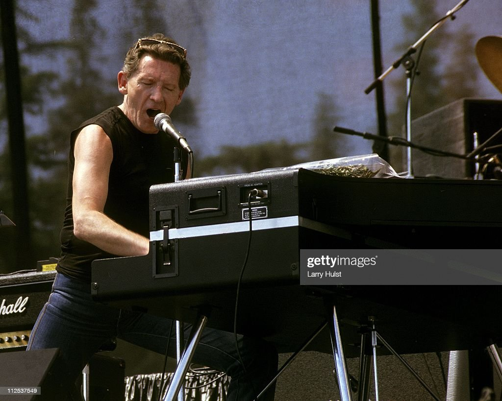 Jerry Lee Lewis performs at MJC Stadium in Modesto, California on
