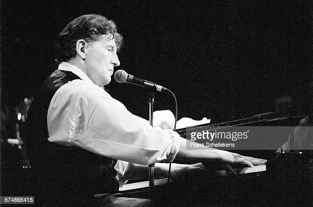 Jerry Lee Lewis, piano-vocal, performs on January 28th 1994 at the Paradiso in Amsterdam, the Netherlands.