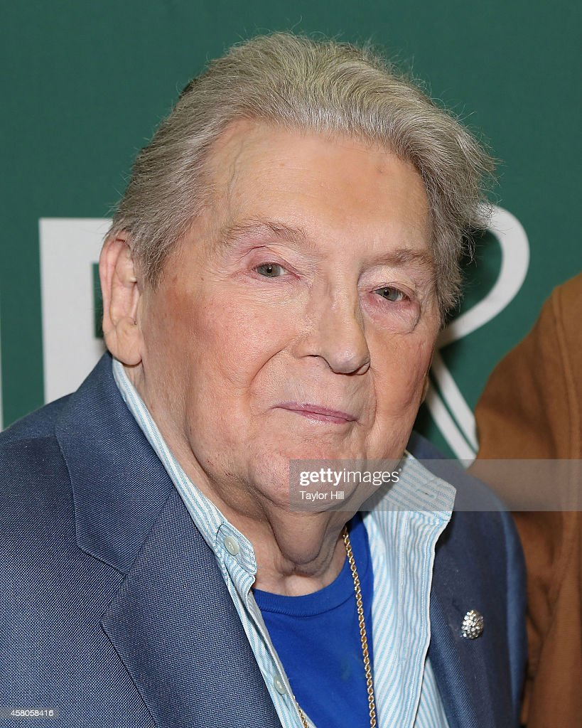 Jerry Lee Lewis promotes his biography at Barnes & Noble Union Square on October 29, 2014 in New York City.