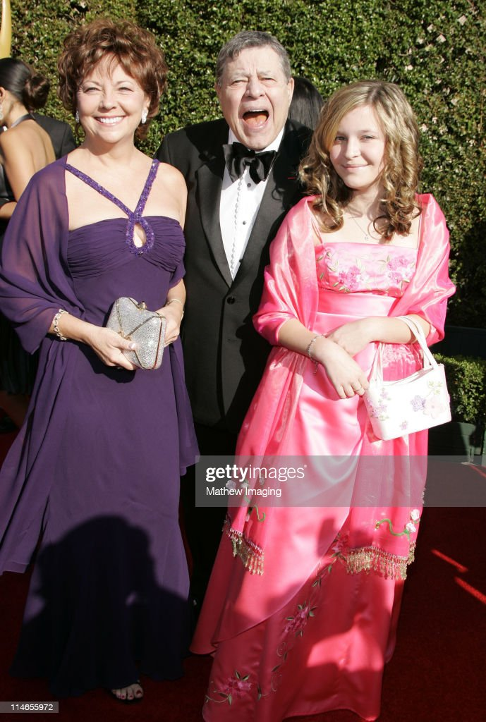 Jerry Lewis and guests during 57th Annual Primetime Creative Arts EMMY Awards - Arrivals & Red Carpet at Shrine Auditorium in Los Angeles, California, United States.