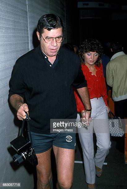 Jerry Lewis and SanDee Pitnick out and about circa 1982