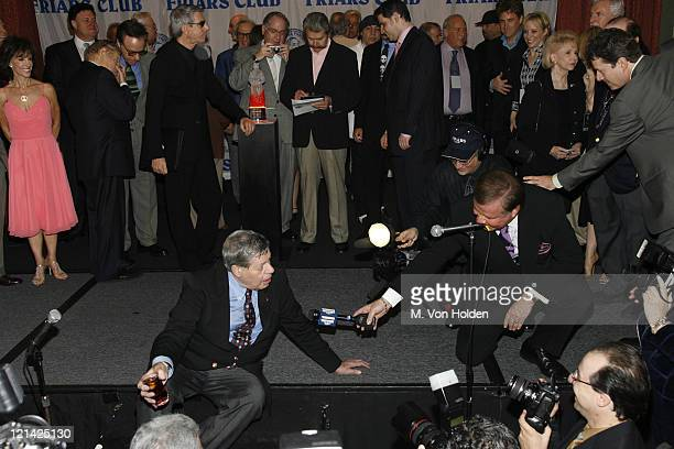 Jerry Lewis Atmosphere during Jerry Lewis Roasted by The Friars Club at New York Hilton in New York NY United States