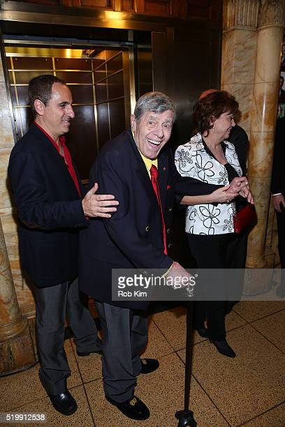 Jerry Lewis attends his 90th Birthday Celebration at The Friars Club on April 8 2016 in New York City