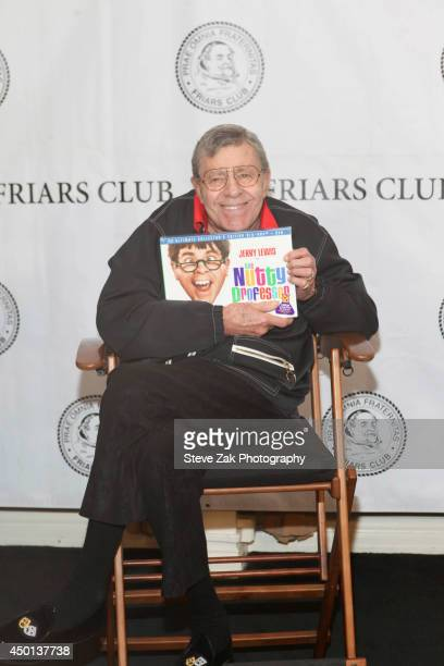 Jerry Lewis attends the Friars Club celebration of Jerry Lewis and the 50th Anniversary of The Nutty Professor at New York Friars Club on June 5 2014...