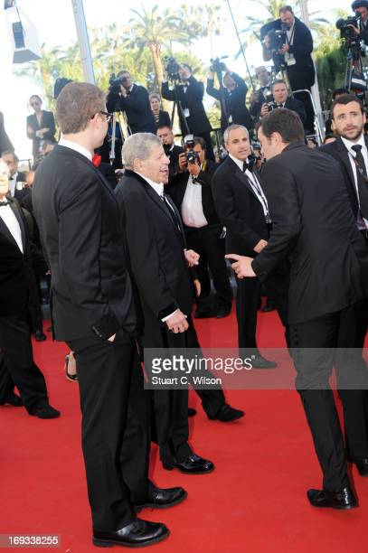 Jerry Lewis attends the Jerry Lewis hommage and 'Max Rose' Premiere at The 66th Annucal Cannes Film Festival at Palais des Festivals on May 23 2013...
