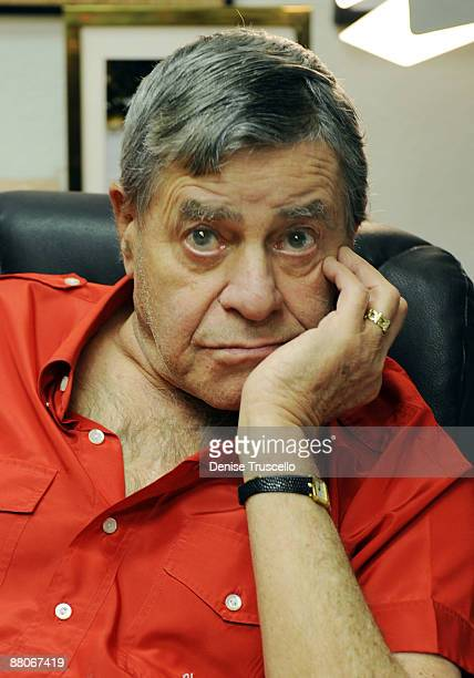 Jerry Lewis during an interview for the Ina Balin documentary on May 29 2009 in Las Vegas Nevada