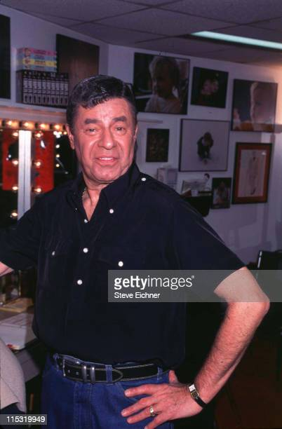 Jerry Lewis during Damn Yankees 4121995 at Marriott Marquis Theater in New York City New York United States
