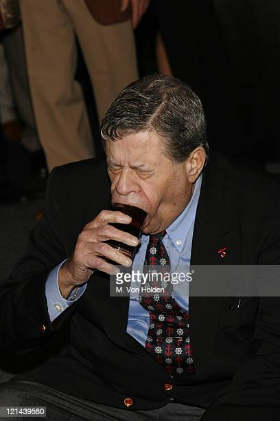 Jerry Lewis during Jerry Lewis Roasted by The Friars Club at New York Hilton in New York NY United States