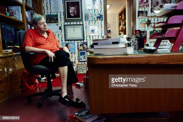Jerry Lewis is photographed for The Hollywood Reporter on March 28 2014 in Las Vegas Nevada PUBLISHED IMAGE