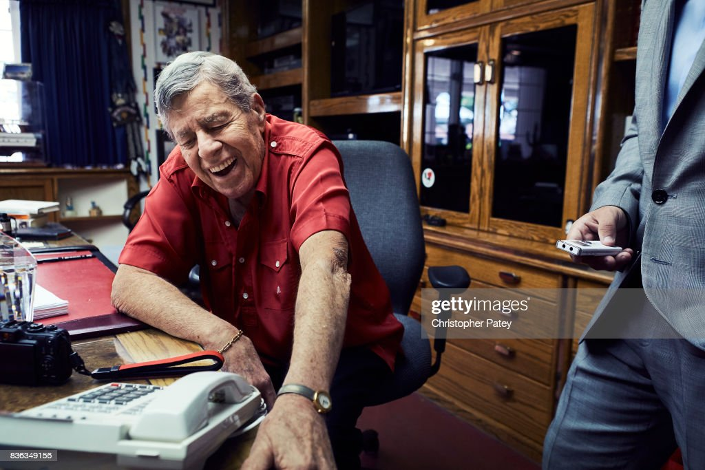 Jerry Lewis is photographed for The Hollywood Reporter on March 28, 2014 in Las Vegas, Nevada. PUBLISHED