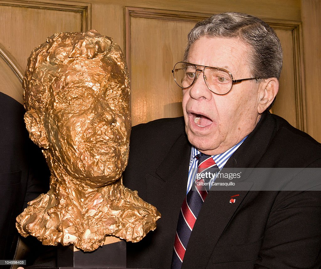 Jerry Lewis receives the Lifetime Achievement award from the Friars Club Comedy Film Festival at New York Friars Club on September 29, 2010 in New York City.
