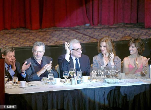 Jerry Lewis Robert De Niro Martin Scorsese Sandra Bernhard and Deana Martin