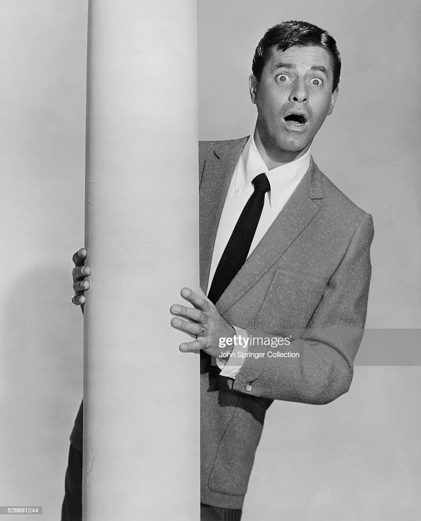 Jerry Lewis stars in the 1963 film Who's Minding the Store?, directed by Frank Tashlin.