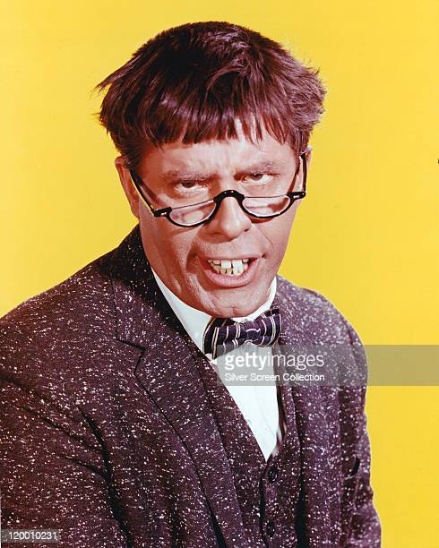 Jerry Lewis US comedian and actor in a publicity portrait issued for the film 'The Nutty Professor' USA 1963 The comedy directed by Jerry Lewis...